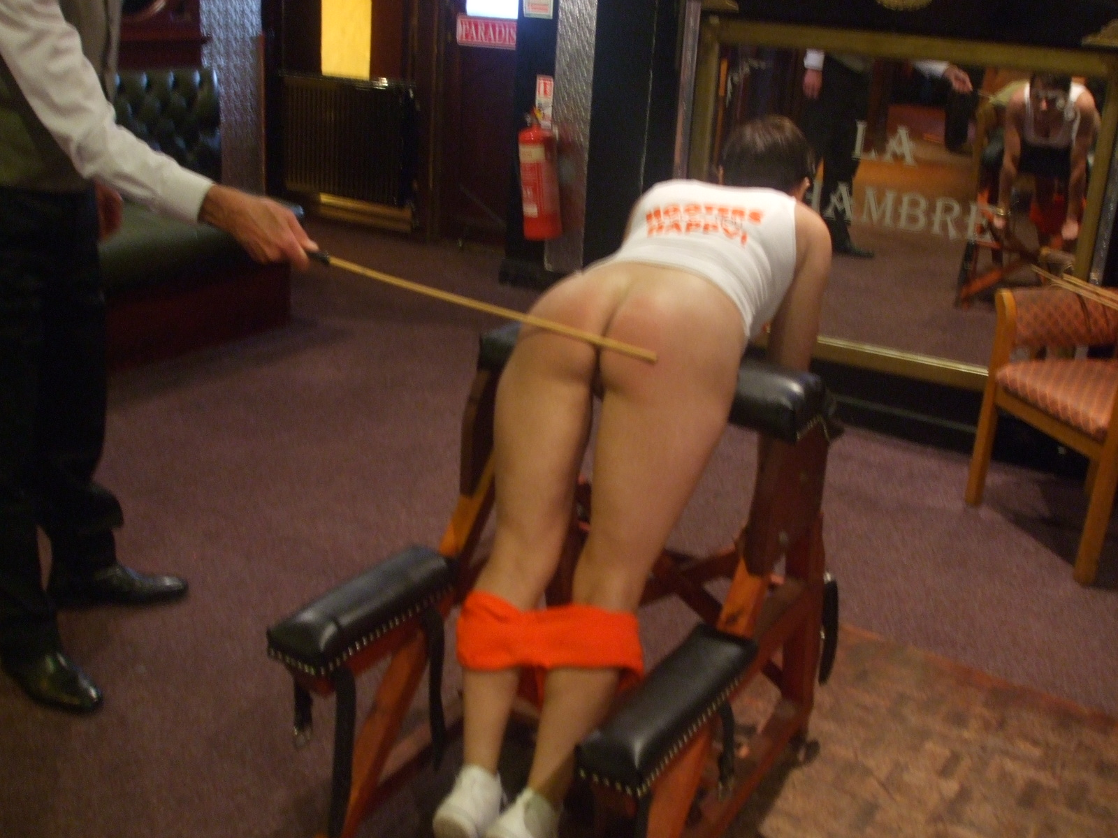 central spanking parties